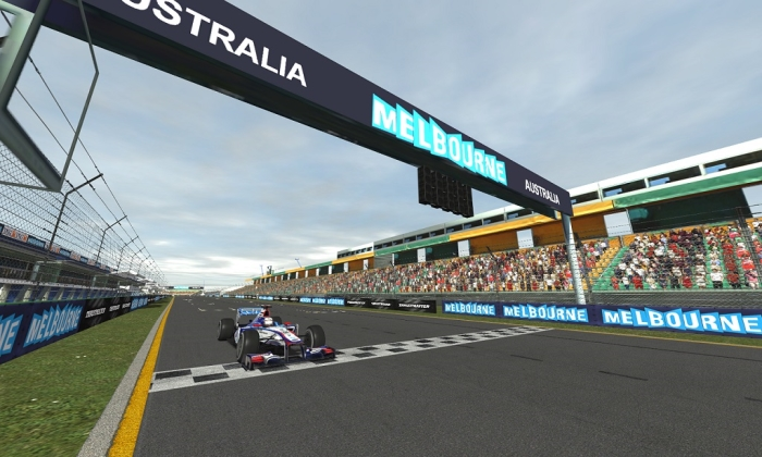 ACE R1:  Kiss Wins Down Under