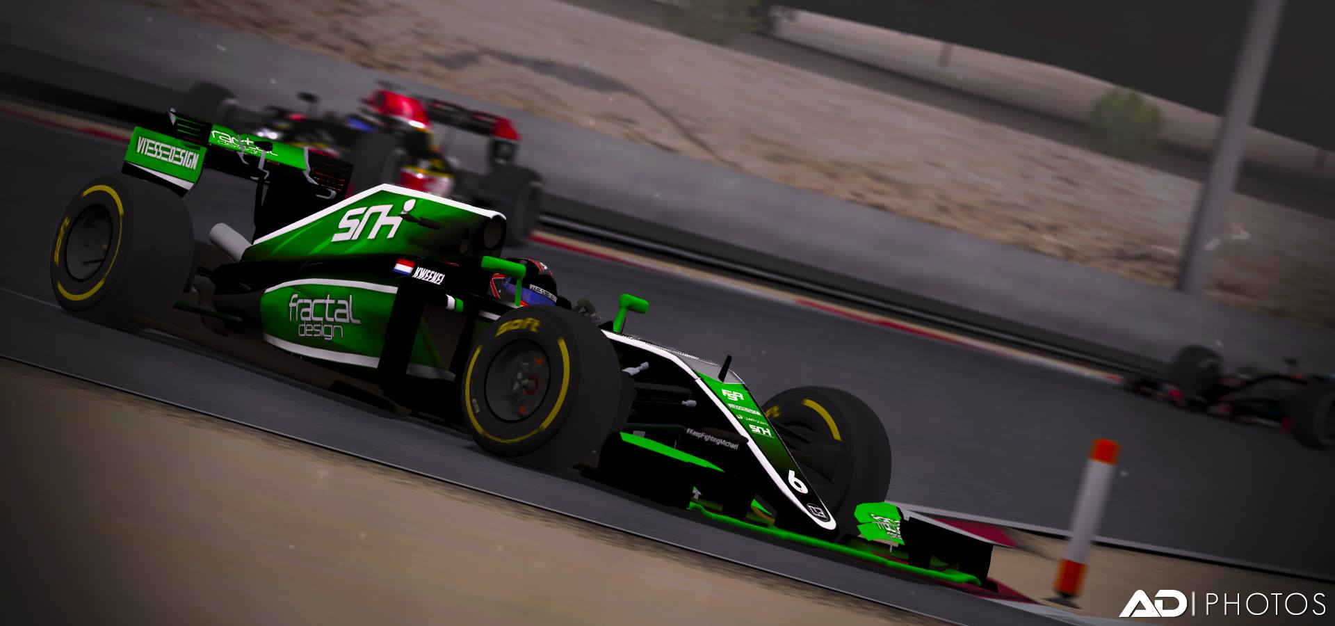Kweekel Shines Under The Lights - 2016 Formula SimRacing World Championship Round 2 Race Review