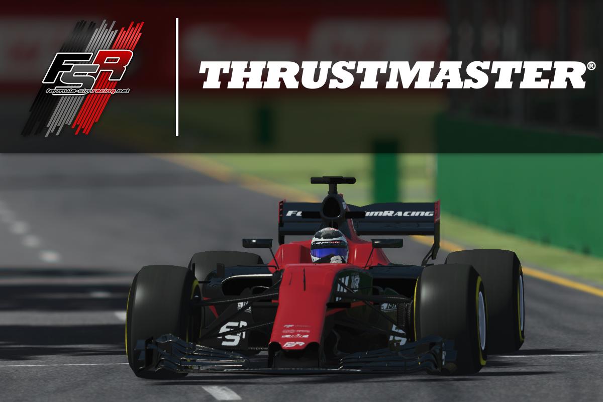 Thrustmaster® renews partnership with FSR